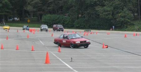 Took the B12 Autocrossing !!!