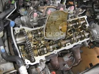 Timing chain broke  damage? replace or rebuild   Nissan Forum