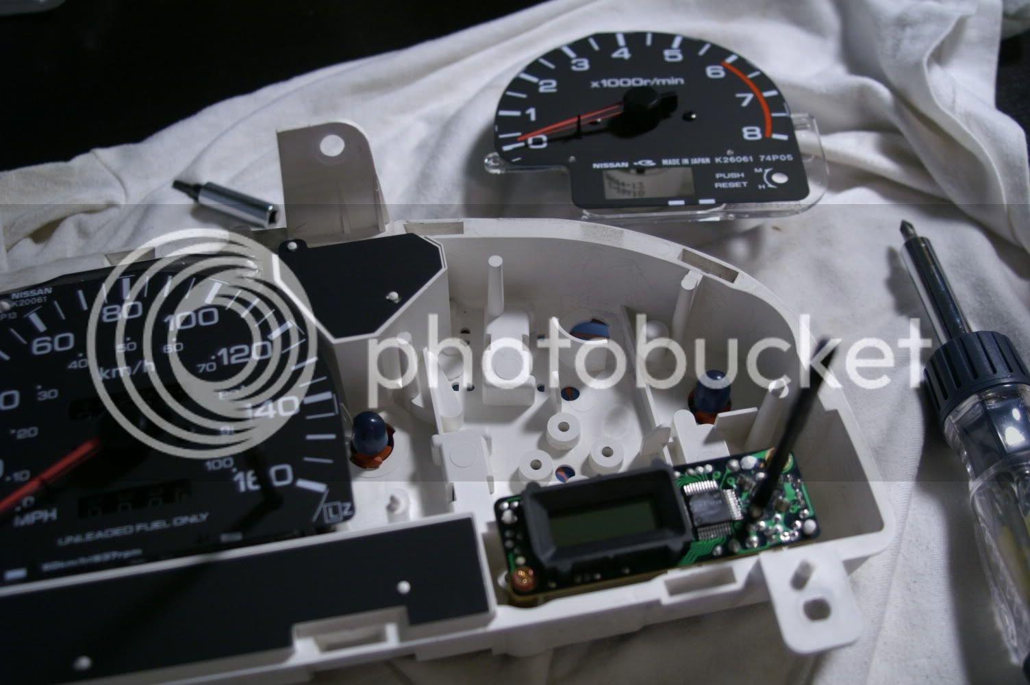 1995 D21 Hardbody/Pathfinder Speedo and Tachometer repair