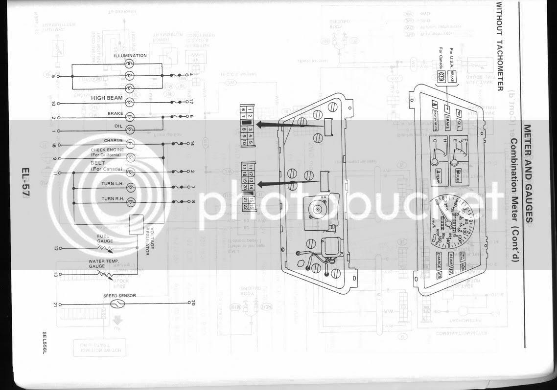 Full notes: B12 tach gauge cluster swap | Nissan Forum on