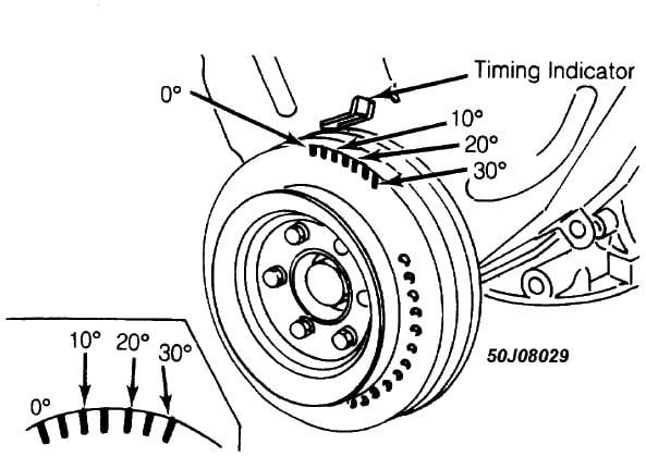 Timing Marks on V6 Crank Pulley | Nissan Forum